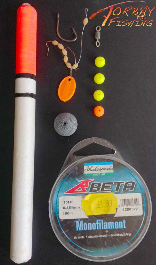 Float fishing parts.