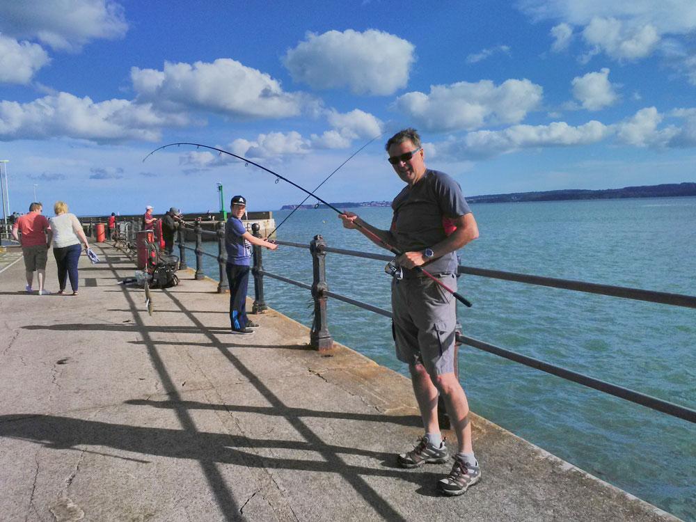 Fishing training August 2016.